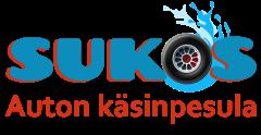 Sukos – Auton käsinpesula logo